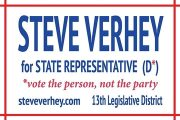 Steve Verhey for State Representative (D*)